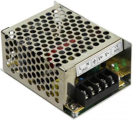 Блок питания ORIENT PB-0210 Импульсный блок питания, AC 100-240V/ DC 12V, 3.5A, стабилизированный, защита от КЗ и перегрузки, ручная рег-ка Uвых, винт gakaki ac to dc power adapter 100 240v supply charger adapter 12v 2a us eu plug for cctv led strip lamp