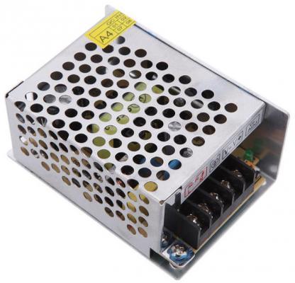 Блок питания ORIENT PB-0405 Импульсный блок питания, AC 100-240V/ DC 12V, 5.0A, стабилизированный, защита от КЗ и перегрузки, ручная рег-ка Uвых, винт gakaki ac to dc power adapter 100 240v supply charger adapter 12v 2a us eu plug for cctv led strip lamp