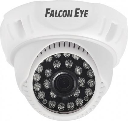 Камера Falcon Eye FE-D720MHD/20M-2,8 Купольная цветная гибридная видеокамера(AHD, CVI, TVI, CVBS), 1/4' OV9732 1 Megapixel CMOS, 1280?720(25 fps), чув ahd камера falcon eye fe ib1080mhd 20m