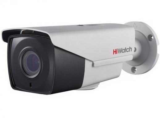 Камера HiWatch DS-T506 B (2.8-12 mm) 5Мп уличная цилиндрическая HD-TVI камера с ИК-подсветкой до 40м 1/2.7 CMOS матрица; моторизированный вариообъек камера hiwatch ds t103 2 8 mm 1мп уличная купольная hd tvi камера с ик подсветкой до 20м 1 4 cmos матрица объектив 2 8мм угол обзора 92° механи