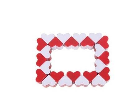 Купить Игра-головоломка Наша Игрушка Змейка логическая Сердечки от 3 лет, Головоломки для детей