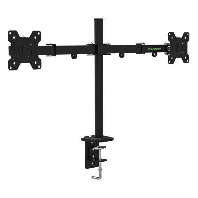 Кронштейн для мониторов Tuarex ALTA-503, для 2xLCD мониторов 15-32, настольный, VESA 100х100, max 2*8 кг, Черный