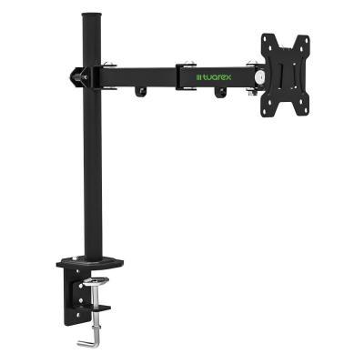 Кронштейн для мониторов Tuarex ALTA-502, для LCD мониторa 15-32, настольный, VESA 100x100, max 8 кг, Черный кронштейн для телевизоров tuarex ultra 6