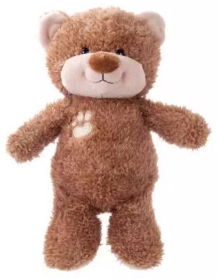 Мягкая игрушка мишка Наша Игрушка Мишка Малыш искусственный мех трикотаж пластмасса коричневый 20 см стоимость