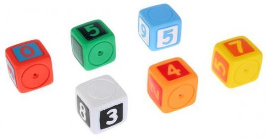 Игрушка для купания для ванны ИГРАЕМ ВМЕСТЕ Кубики с цифрами игрушки для ванны играем вместе заводная игрушка играем вместе черепашка