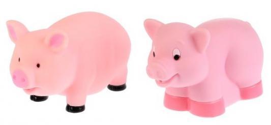 Игрушка для купания для ванны ИГРАЕМ ВМЕСТЕ Свинки 6 см babymoov игрушка для ванны 104919 6 шт