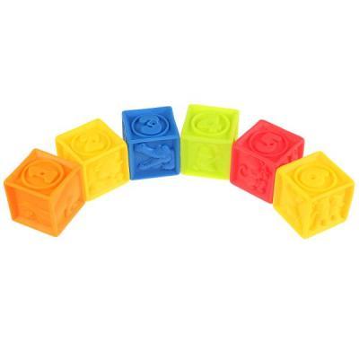 Игрушка для купания для ванны ИГРАЕМ ВМЕСТЕ Кубики цена