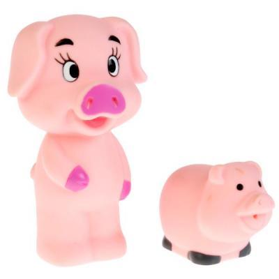 Игрушка для купания ванны ИГРАЕМ ВМЕСТЕ Свинки 10 см