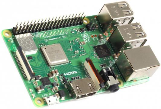 Микрокомпьютер Raspberry Pi 3 Modell B+