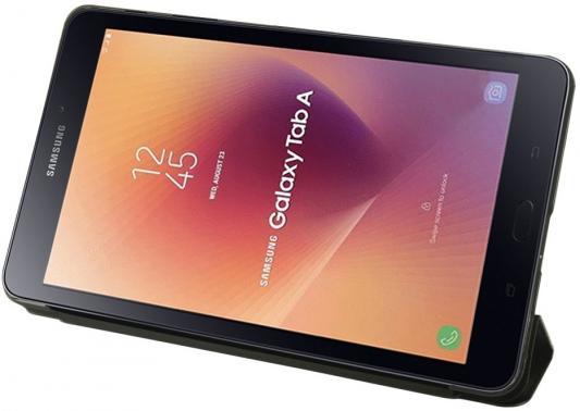 Чехол IT BAGGAGE для планшета SAMSUNG Galaxy Tab A 8 SM-T385 иск.кожа черный ITSSGTA385-1 чехол для планшета it baggage itssgta385 1 черный для samsung galaxy tab a sm t385