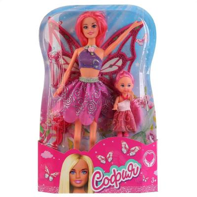 Кукла КАРАПУЗ София фея с маленькой феей 29 см 66342-S-BB карапуз кукла софия фея с аксессуарами цвет оранжевый