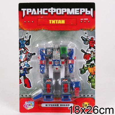 Купить Робот-трансформер PLAYSMART 8028 G017-H21074, Игрушки Роботы