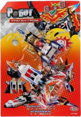 Купить Робот-трансформер PLAYSMART САМОЛЕТЫ 2-В-1 (УРАГАН И ГРОМ) G017-H21114, Игрушки Роботы