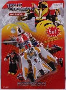 Купить Робот-трансформер PLAYSMART РОБОТ КОРШУН 8011 G017-H21057, Игрушки Роботы