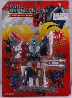 Купить Робот-трансформер PLAYSMART 8025 G017-H21073, Игрушки Роботы