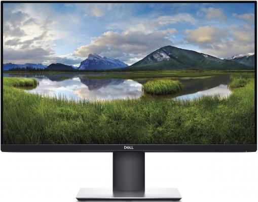 Монитор 27 DELL P2719H черный IPS 1920x1080 300 cd/m^2 5 ms HDMI DisplayPort VGA USB 2719-2422 монитор 23 acer t232hlabmjjcz черный ips 1920x1080 300 cd m^2 5 ms hdmi vga usb um vt2ee a07