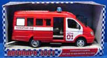 Купить Пожарная машина Play Smart ПОЖАРНАЯ красный A071-H11019, PLAYSMART, Игрушечные машинки