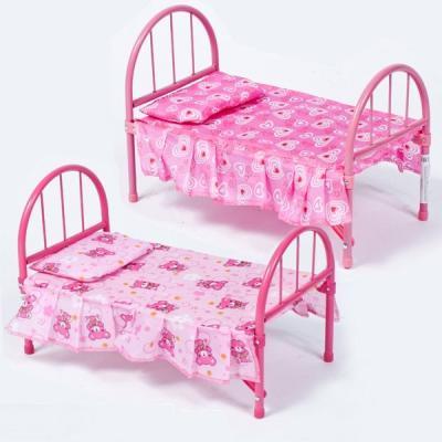 Кроватка для кукол MELOGO Кровать для кукол melogo детская коляска цвет черный оранжевый