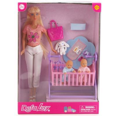 Набор кукол DEFA LUCY МАМА + 2 РЕБЕНКА 8359-DEFA цена и фото