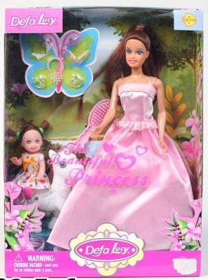 Набор кукол DEFA LUCY МАМА + ДОЧКА 33 см 8077 defa lucy набор из 2 х кукол в зоопарке 11 см 14 см defa lucy