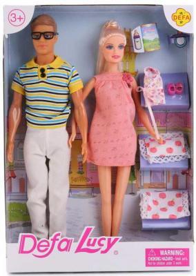 Кукла DEFA LUCY НАБОР ИЗ 3-Х КУКОЛ 8349-DEFA куклы и одежда для кукол defa игровой набор кукла с аксессуарами 26 см