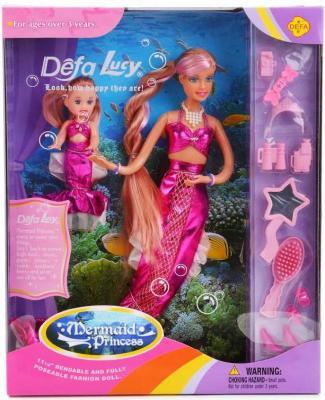 Набор кукол DEFA LUCY МАМА-РУСАЛОЧКА+ДОЧЬ 20978