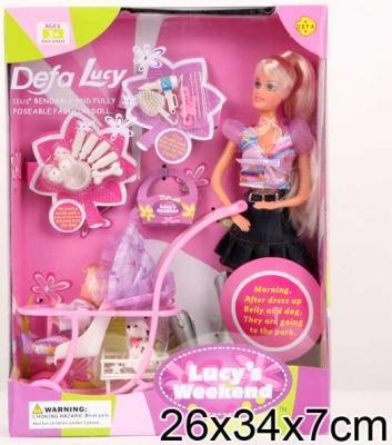 Набор кукол DEFA LUCY МАМА + ДОЧКА 20958 куклы и одежда для кукол defa lucy кукла с аксессуарами 26 см