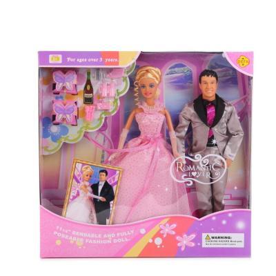 цена Набор кукол DEFA LUCY ЖЕНИХ И НЕВЕСТА 20991 (12)