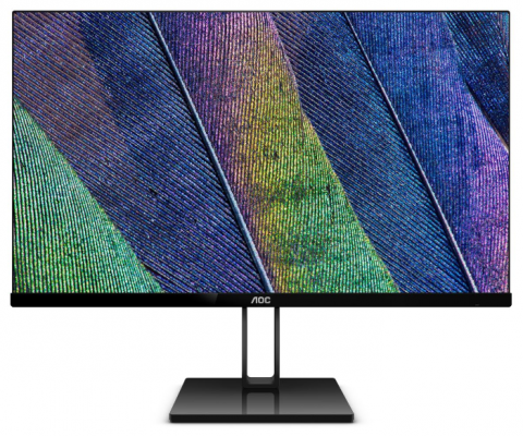 "Монитор AOC 21.5"" Value Line 22V2Q черный IPS LED 5ms 16:9 HDMI матовая 250cd 1920x1080 DisplayPort FHD 2.74кг монитор 22 aoc i2269vwm ips led 1920x1080 5ms vga hdmi displayport"
