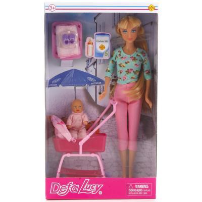 Кукла DEFA LUCY Кукла с малышом 32 см 8358-DEFA кукла defa lucy с крыльями 29 см