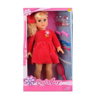 Кукла DEFA LUCY КУКЛА 49 см 5508-DEFA defa toys кукла lucy цвет платья фиолетовый розовый