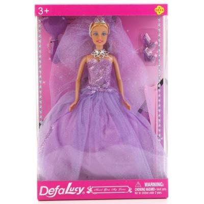 Кукла DEFA LUCY 8253-DEFA 32 см в ассортименте кукла defa lucy летние покупки 8220