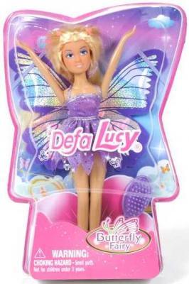 Кукла DEFA LUCY Кукла с крыльями 17 см 8121 кукла defa lucy 8296a
