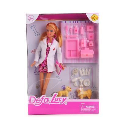 Кукла DEFA LUCY Кукла-доктор 32 см 8346-DEFA кукла defa lucy 8308