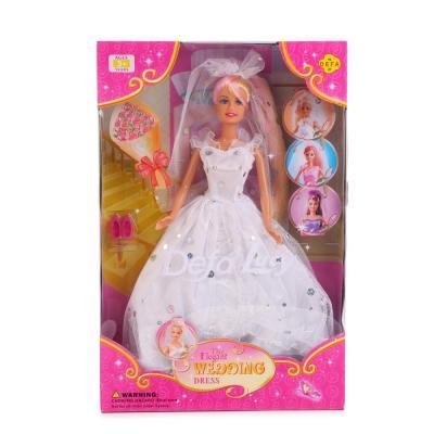 Кукла DEFA LUCY НЕВЕСТА С АКСЕСС 6003 кукла defa lucy 8296a