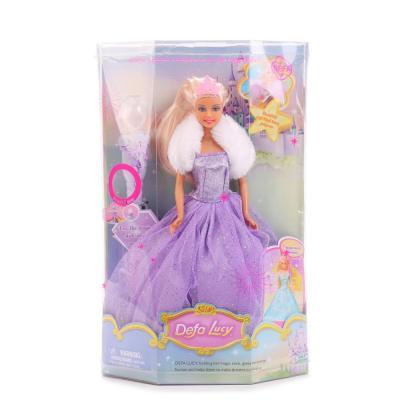 Кукла DEFA LUCY ФЕЯ 29 см светящаяся 8003 куклы и одежда для кукол defa lucy кукла фея на батарейках
