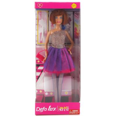 Кукла DEFA LUCY КУКЛА 33 см 8259-DEFA defa toys кукла lucy цвет платья фиолетовый розовый