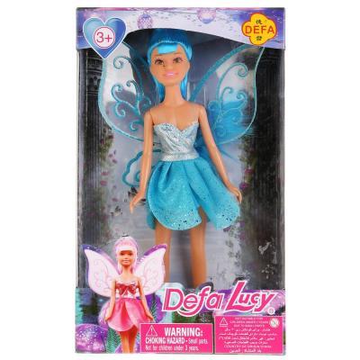 Кукла DEFA LUCY Кукла с крыльями 24 см DF8317 кукла defa lucy с крыльями 29 см