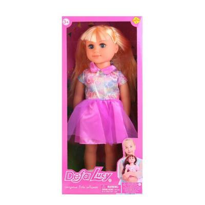 Кукла DEFA LUCY Девочка 5504-DEFA defa toys кукла lucy цвет платья фиолетовый розовый