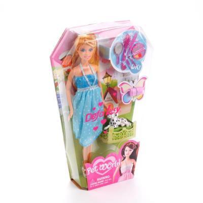 Кукла DEFA LUCY 8073 33 см в ассортименте кукла defa lucy six ladies в зеленом платье 8316green