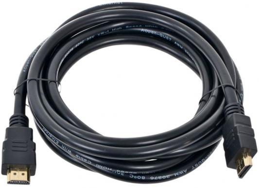 Кабель HDMI 1.8м AOpen ACG711-1.8M круглый черный кабель aopen ups → vde ace001 1 8m черный