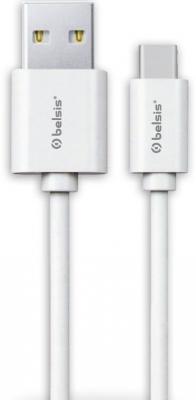Кабель Lightning Belsis BS3015 круглый белый акустический кабель belsis bw7704 15 soft