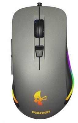Мышь проводная Jet.A JA-GH41 чёрный серый USB