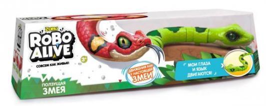Игрушка Робо-змея зеленая zuru интерактивная игрушка zuru робо змея красная движение