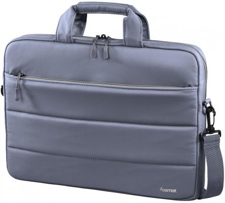 Сумка для ноутбука 15.6 HAMA Toronto нейлон серый голубой 00101851