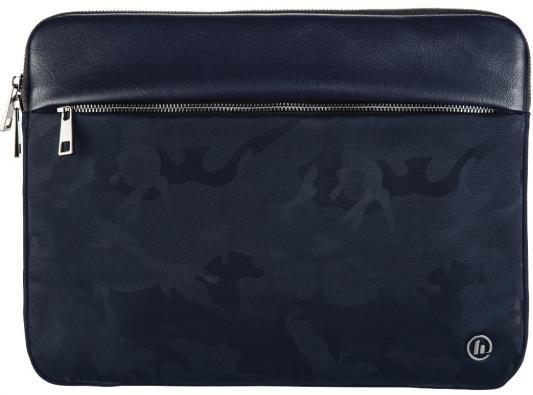Чехол для ноутбука 15.6 HAMA Mission Camo полиэстер полиуретан синий камуфляж 00101842 сумка для ноутбука 15 6 hama florence ii полиэстер серый 00101569