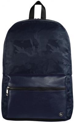 Рюкзак для ноутбука 14 HAMA Mission Camo полиэстер полиуретан синий камуфляж 00101843