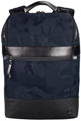 Рюкзак для ноутбука 15.6 HAMA Camo Select полиэстер полиуретан синий камуфляж 00101845