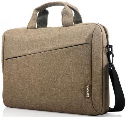 "Сумка для ноутбука 15.6"" Lenovo ""Toploader T210"" полиэстер зеленый GX40Q17232 цена и фото"