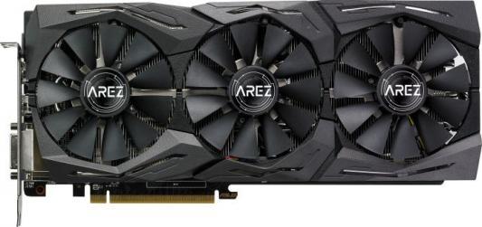 Видеокарта Asus PCI-E AREZ-STRIX-RX580-T8G-GAMING AMD Radeon RX 580 8192Mb 256bit GDDR5 1411/8000 DVIx1/HDMIx2/DPx2/HDCP Ret asus radeon rx 470 1206mhz pci e 3 0 8192mb 6600mhz 256bit 2dvi hdmi dp hdcp strix rx470 8g gaming